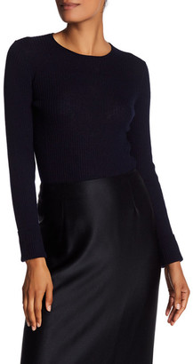 Vince. Ribbed Cashmere Sweater $255 thestylecure.com