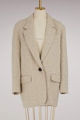 Etoile Isabel Marant Wool Floyd jacket