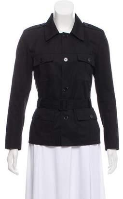 Saint Laurent Twill Military Jacket