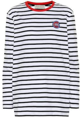 Être Cécile Big C Badge cotton top