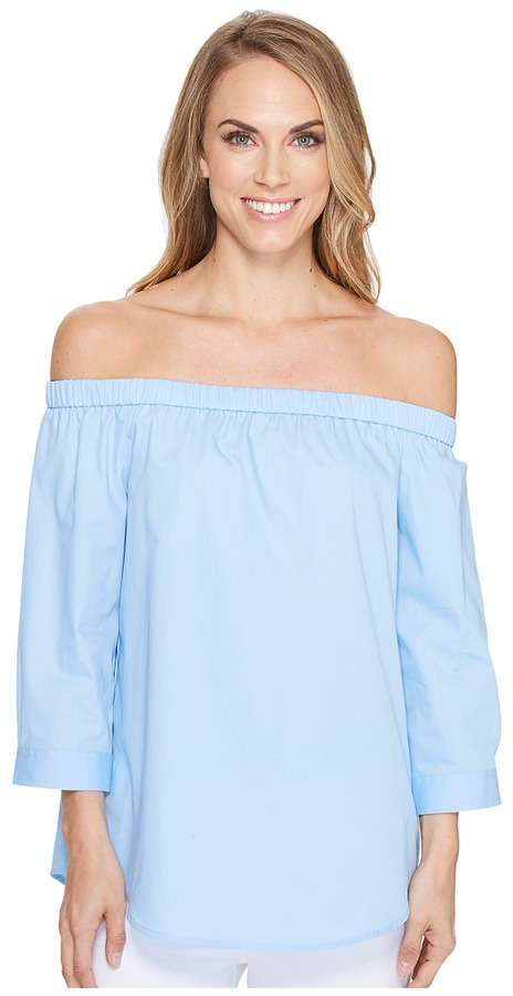 Calvin Klein Calvin Klein - Off Shoulder 3/4 Sleeve Top Women's Clothing