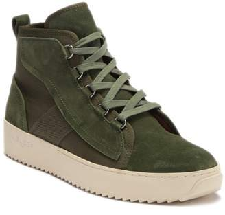 J/Slides Sander Suede High Top Sneaker