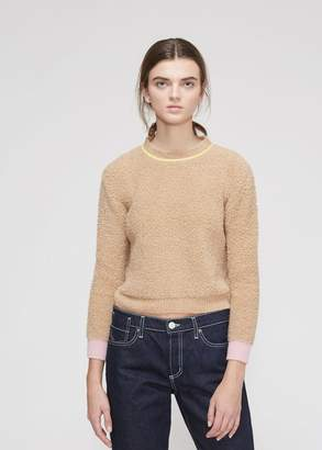 Marni Long Sleeve Crew Neck Sweater
