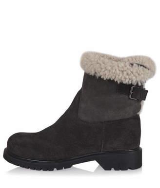 La Canadienne Honey Sherling Boot