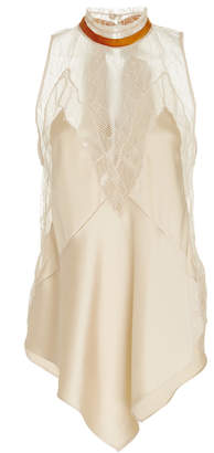 Jonathan Simkhai Lingerie Sateen Sleeveless Top