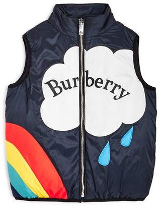 Burberry Girls' Rene Down Vest - Little Kid, Big Kid
