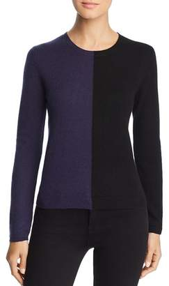 Majestic Filatures Cashmere Color Block Sweater