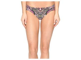 Lucky Brand Tapestry Reversible Side Sash Bottom Women's Swimwear