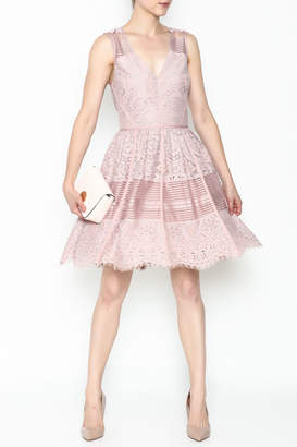 Adelyn Rae Estelle Lace Dress