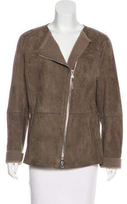 Eleventy Shearling Zip-Up Jacket w/ Tags