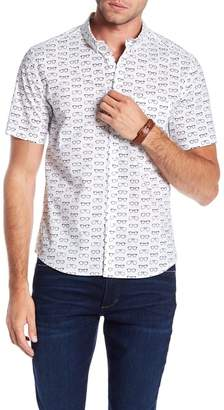 PUBLIC ART Short Sleeve Cool Shades Print Shirt