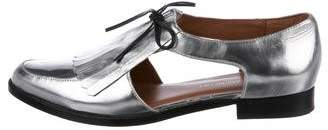Rebecca Minkoff Leather Cutout Loafers