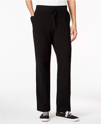 Karen Scott Petite Drawstring Active Pants