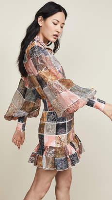Zimmermann Ninety-Six Patch Mini Dress