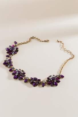 francesca's Catherine Statement Necklace - Purple