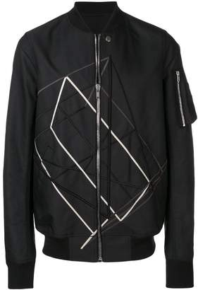 Rick Owens embroidered bomber jacket