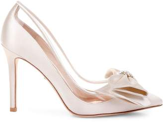 Badgley Mischka Frances Satin Pumps