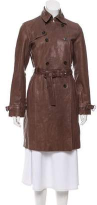 MICHAEL Michael Kors Belted Knee-Length Coat