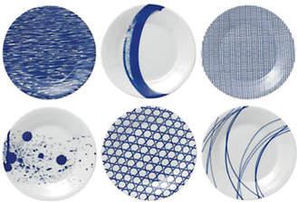 Royal Doulton Pacific Tapas Plates Mixed Set of 6