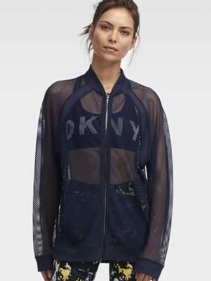 DKNY Mesh Jacket
