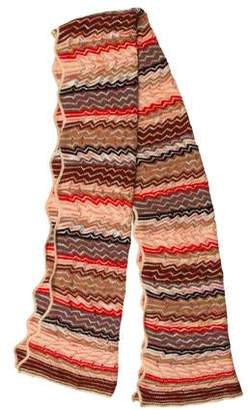 Missoni Scalloped Knit Scarf