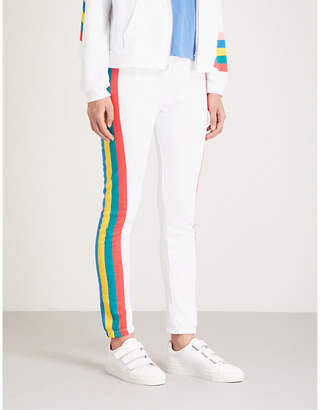 Wildfox Couture Rainbow print jogging bottoms
