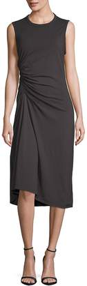 James Perse Women's Ruched-Front Sleeveless Dress
