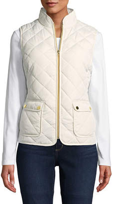 ST. JOHN'S BAY Quilted Vest - Tall