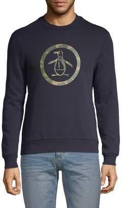 Original Penguin Graphic Cotton-Blend Sweatshirt