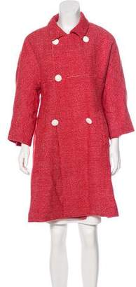 Paul & Joe Wool-Blend Knee-Length Coat
