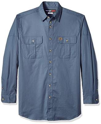 Wrangler Men's Tall Riggs Workwear Tall Work Shirt Shirt