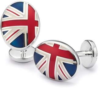 Union Jack Enamel Cufflinks by Charles Tyrwhitt