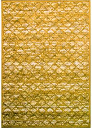 Cornermill Court Perry Designer Rug, H&G Green 160x230cm