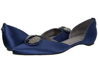 Stuart Weitzman & Evening Collection Dome Women's Dress Flat Shoes