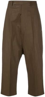 Rick Owens cropped Karloff trousers