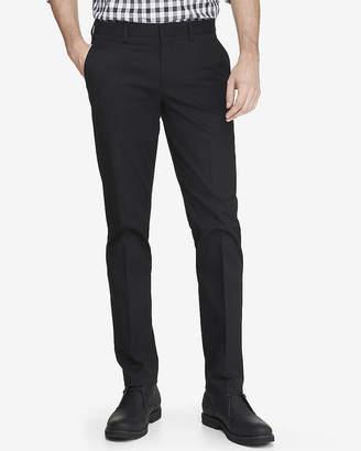 Express Extra Slim Black Cotton Dress Pant