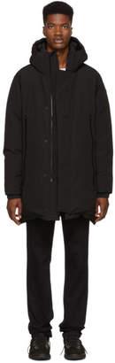 Moncler Black Crepel Jacket