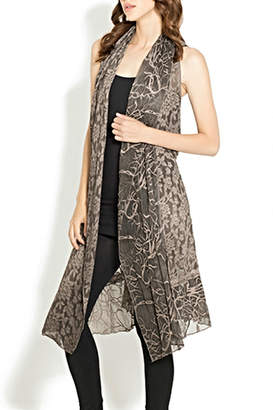Adore Multifabric Lace Vest