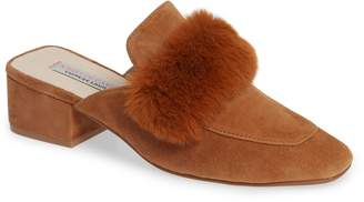 Kristin Cavallari Fearless Faux Fur Mule