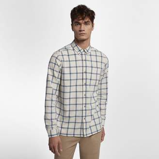 Hurley Towns Mens Woven Long-Sleeve Top