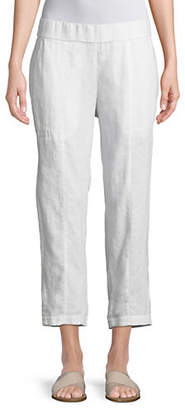 Eileen Fisher Linen Cropped Pants