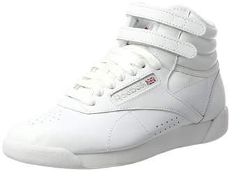 2c742af0fc85 ... Reebok Women s F s Hi Gymnastics Shoes, Int White Silver