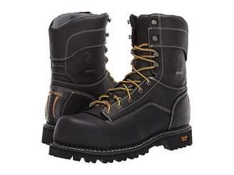 Georgia Boot Low Heel Logger 9 Comp Toe Waterproof