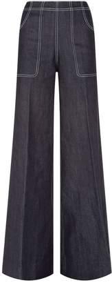 Burberry Wide Leg Jeans