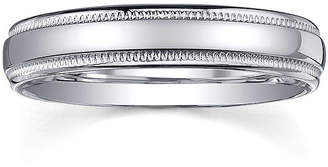 JCPenney MODERN BRIDE Personalized Comfort Fit 4mm Sterling Silver Wedding Band
