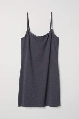 H&M Long Jersey Camisole Top - Blue