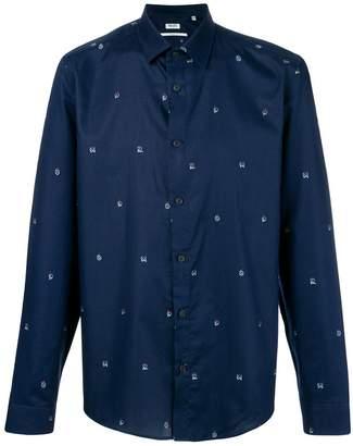 Kenzo YMO embroidered shirt