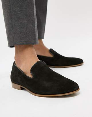 Aldo Tralisien slipper loafers in black