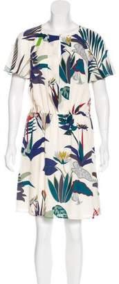 Tory Burch Anatolie Silk Printed Dress