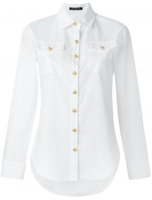 Balmain classic poplin shirt $850 thestylecure.com